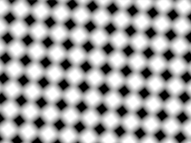 Rotate checkerboard so it always fills viewer? | Vuo