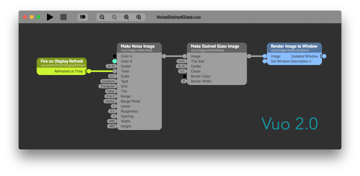 Equivalent composition in Vuo 2.0 with all cables left-to-right