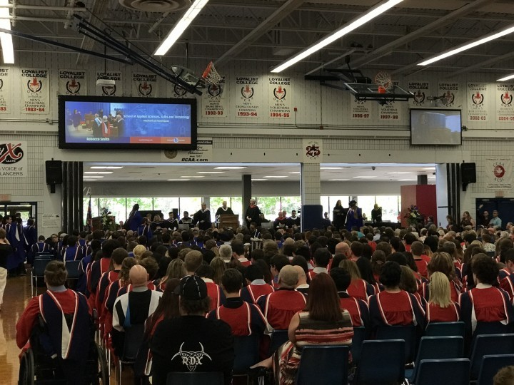 Convocation as seen from the audience