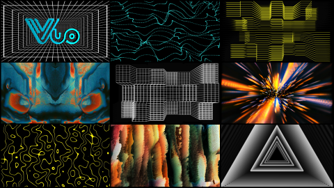 Collage of graphics used in the workshop