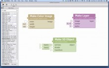 Images, Layers, and 3D Objects in Vuo