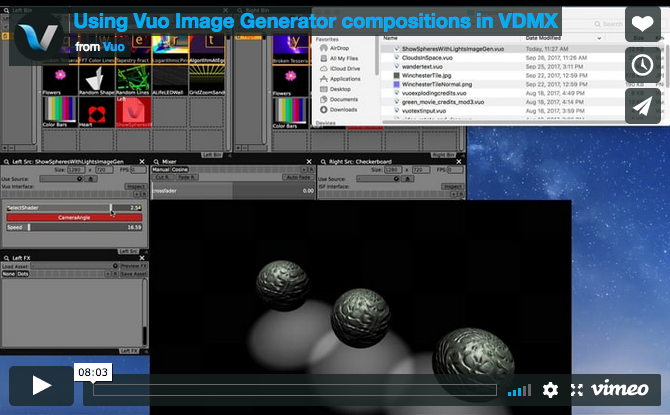 VDMX Tutorial on Vimeo