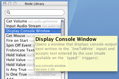 Screenshot demonstrating node tooltips